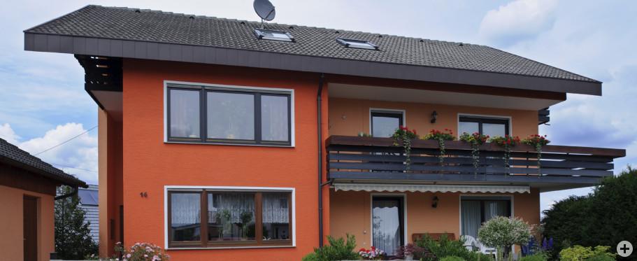 Außensanierung und Gestaltung, Wohnhaus Eberhardt, Dietersweiler