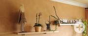 Toskana-Flair mit kreativen Spachtel- und Putztechniken, Renovierung Wohnhaus Eberhardt, Dietersweiler